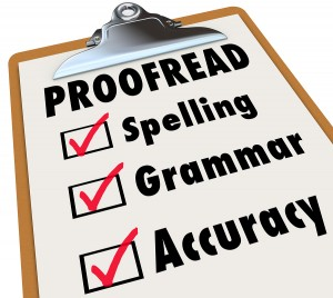 Got typos? Hire an editor for proofread needs