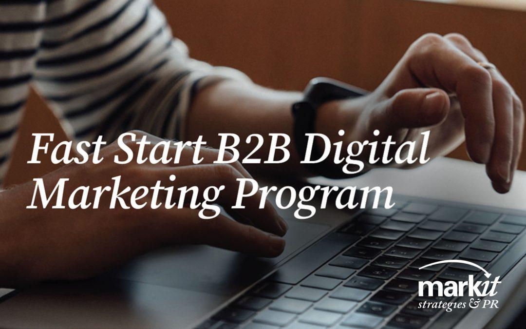 Fast Start B2B Digital Marketing Offer
